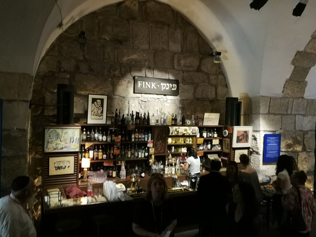 fink bar london jerusalem