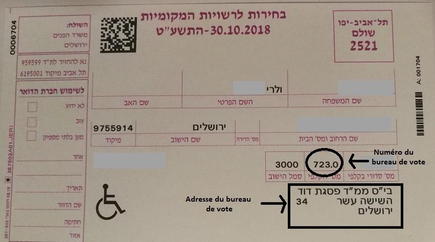 vote carte electeur