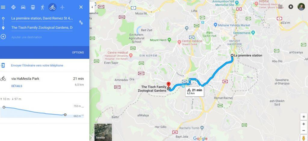 velo google maps