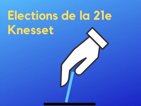 vote 21e knesset