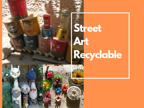street art recyclable