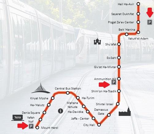 par&ride tram