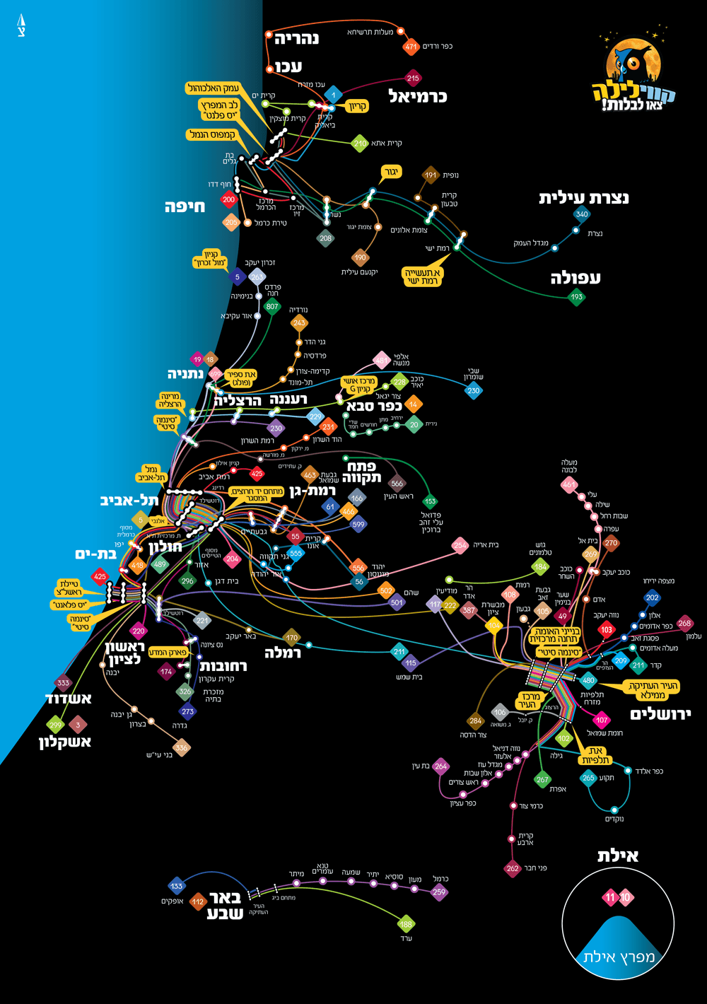 kav layla map 2019