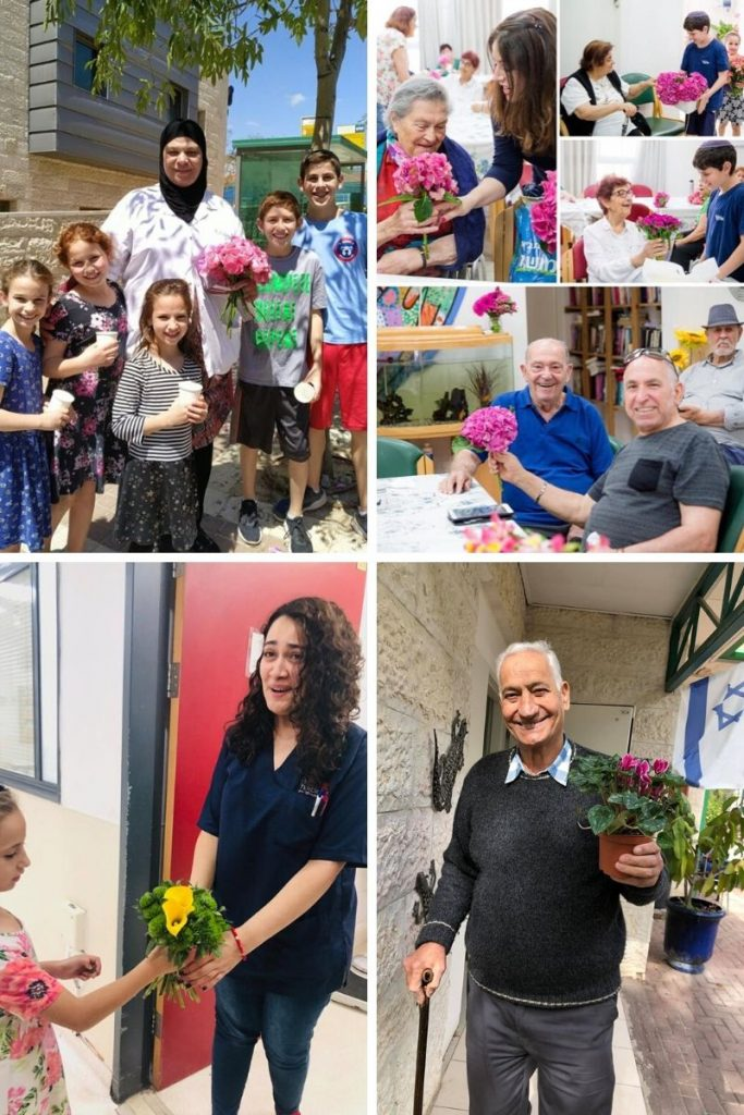 israel blooms fleurs pict