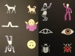 emoj hiéroglyphes