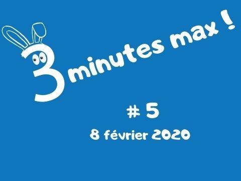 3 minutes 5