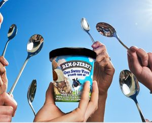 Ben&Jerry's elections