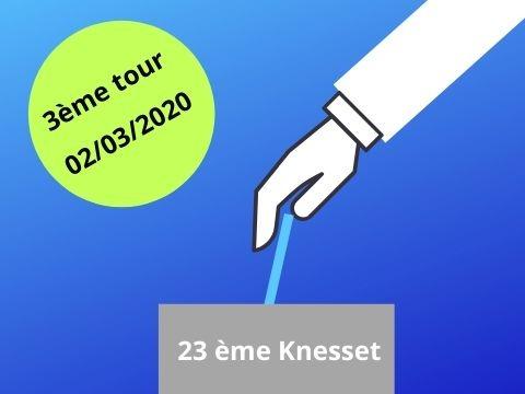 élections 23e Knesset