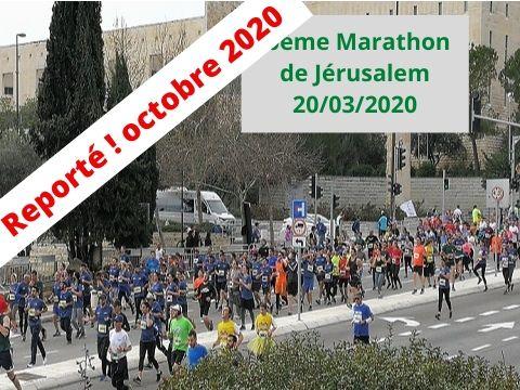 marathon 2020 reporté