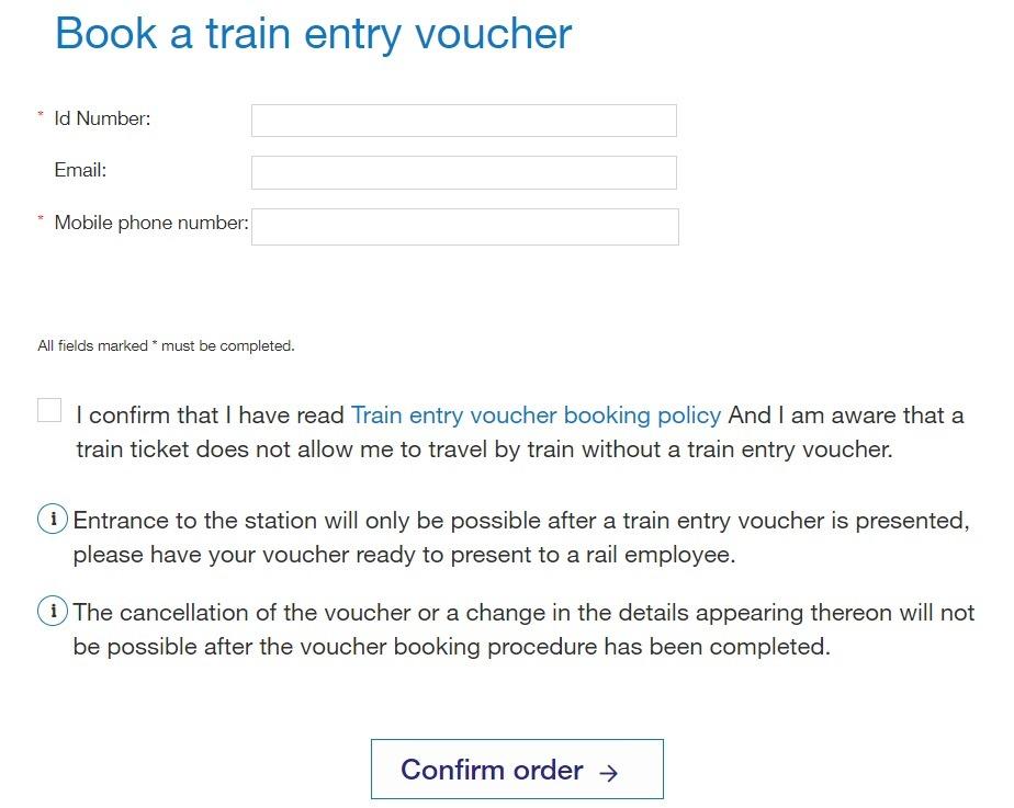 ticket entrée trains