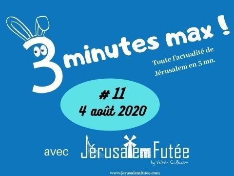 3 minutes max