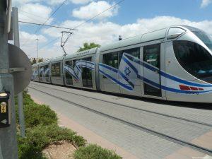 Le tramway de Jérusalem