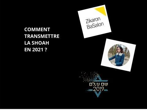 transmission shoah 2021