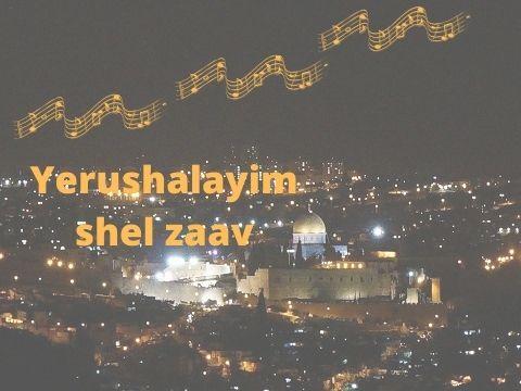 Yerushalayim shel zaav